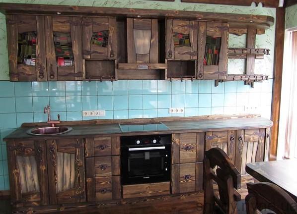 Кухня деревяна