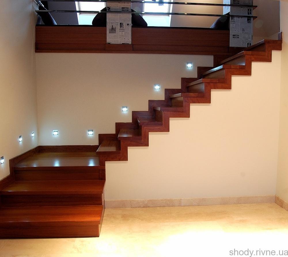 сходи деревяні