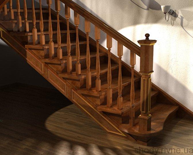 Виготовлення деревяних сходів