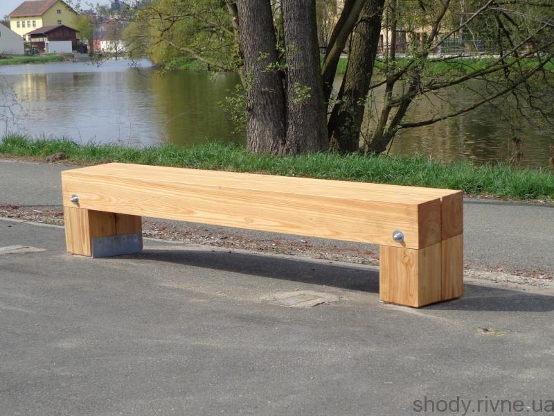 Виготовлення деревяних лавок