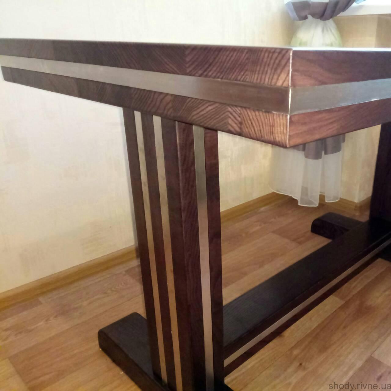 столи деревяні
