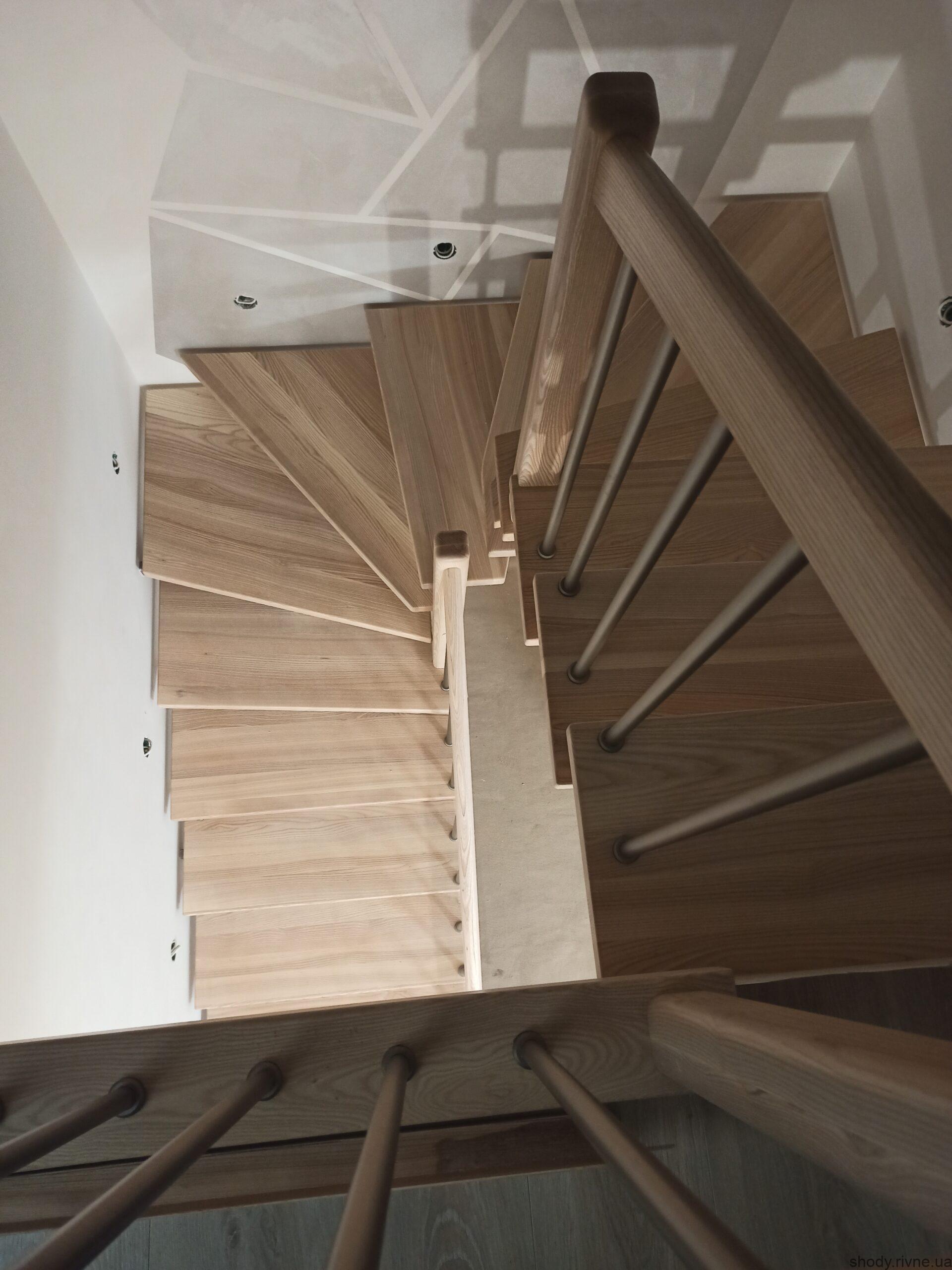 сходи металодеревяні