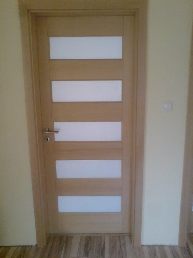 Двері деревяні, вибіляний ясен