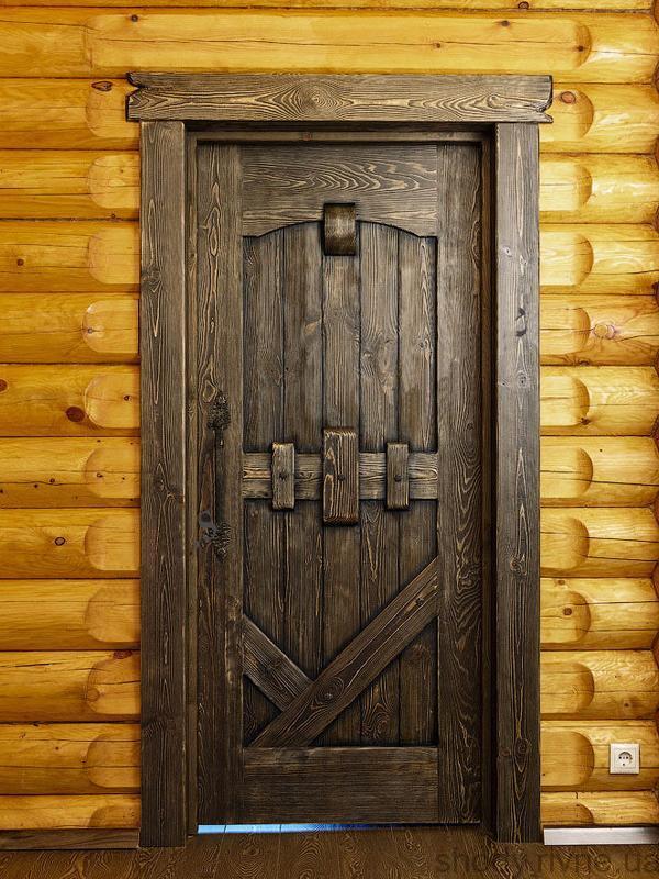 Двері під старовину