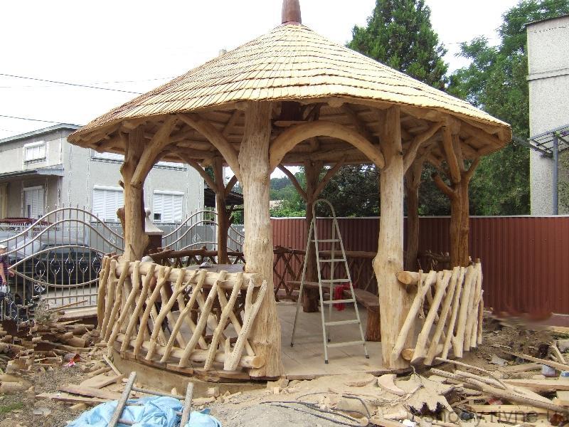 Альтанка деревяна