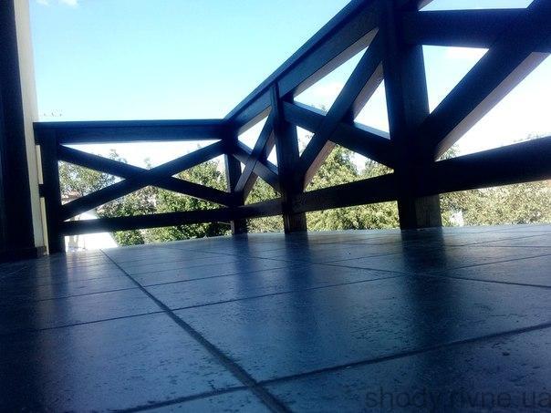 деревяні балкони