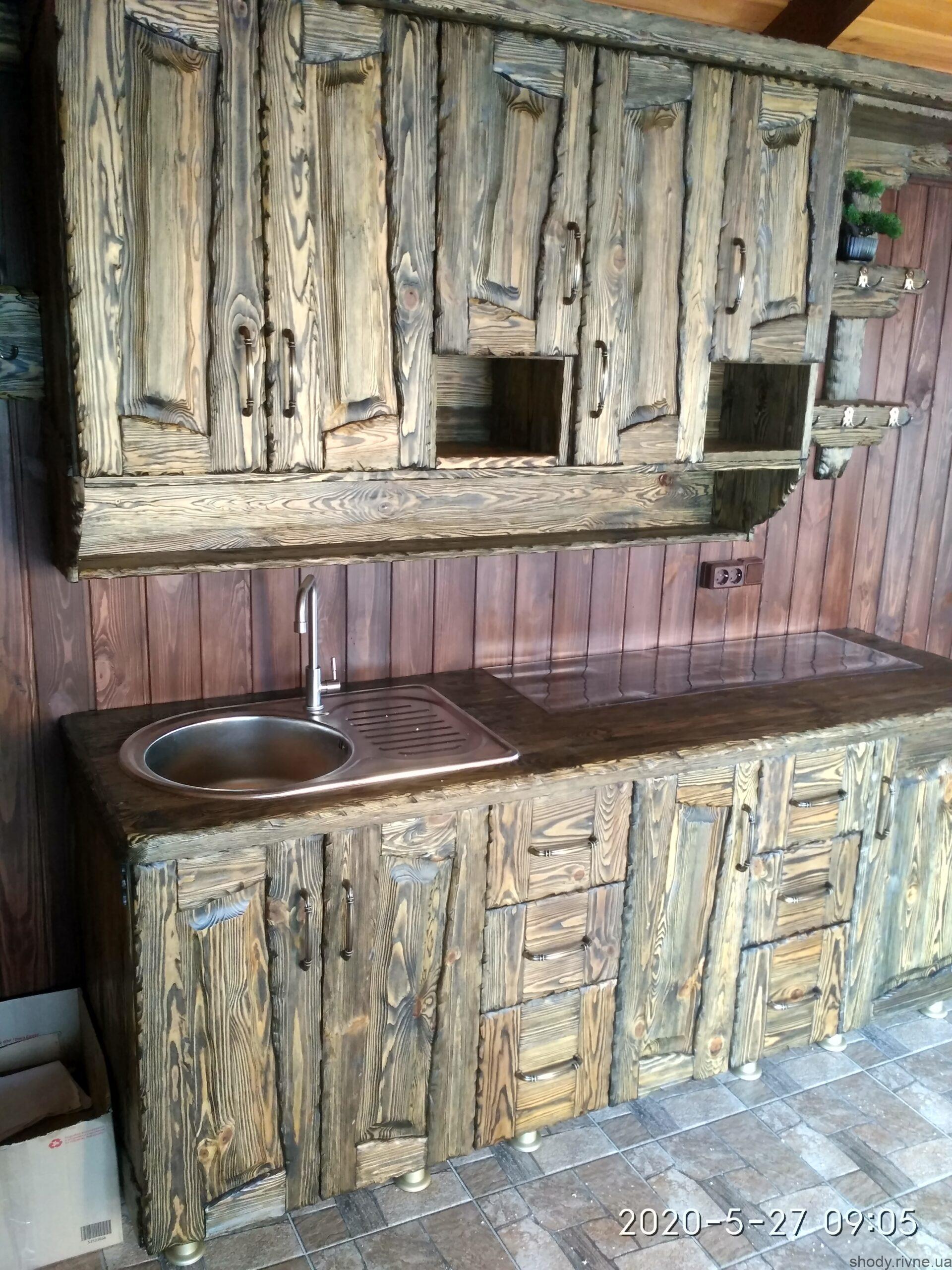 деревяні кухні